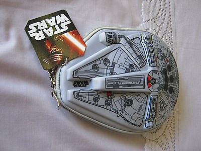 Back to school Star Wars Pencil case, stickers and 1 pkt coloured pencils New