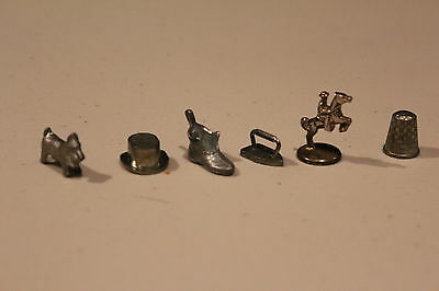 Monopoly Replacement Pieces Lot of 6