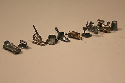 Monopoly Replacement Pieces Lot of 10