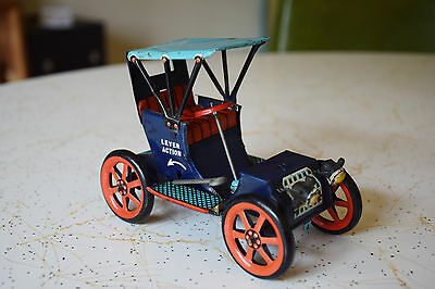 Antique Tin Toy Car (Lever Action)