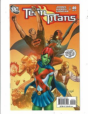 Lot of 5 Teen Titans DC Comic Books #40 41 42 43 44 BH46