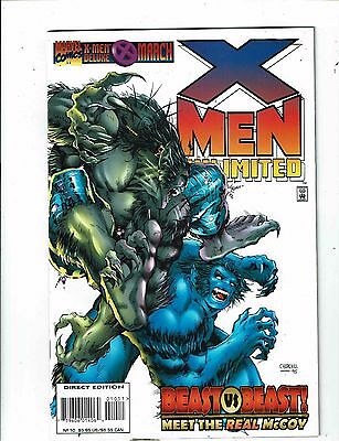 Lot of 4 X-Men Unlimited Marvel Comic Books #10 14 15 16 J197
