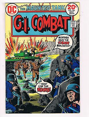 G.I. Combat # 166 VF DC Comic Book Haunted Tank Canning PEDIGREE Collection D22