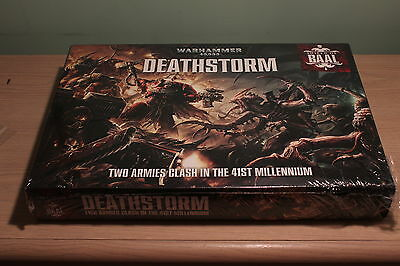 Warhammer Shield of Baal Deathstorm Tyranids vs Blood Angels Brand New in Box
