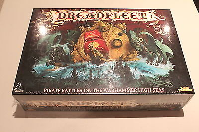 Warhammer Dreadfleet Board Game Brand New in Box , Out of Print
