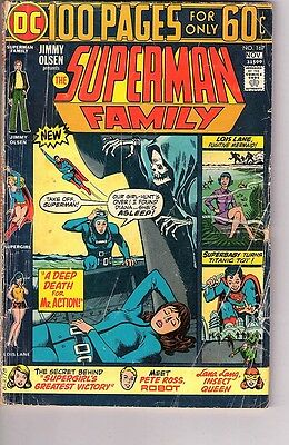 SUPERMAN FAMILY #167 (DC Comics1974) - 100 page giant -  *VG.
