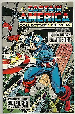 1995 CAPTAIN AMERICA #1  Collectors' Preview -  Marvel Comics *VF+/NM