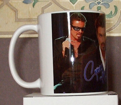 George Micheal tribute coffee  mug