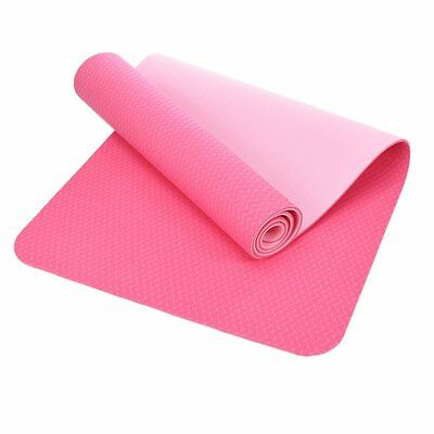 YOGA MAT - Eco-Friendly - Ultra Light Weight - Non-Slip - Thick - TPE material