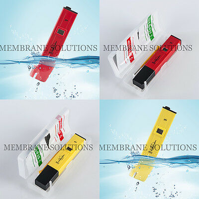 Mini LCD Digital pH Meter Tester Pen with Waterproof Aquarium Pool 0-14 pH Test