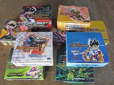 Duel Masters Trading Card Game - Empty Booster Display Boxes