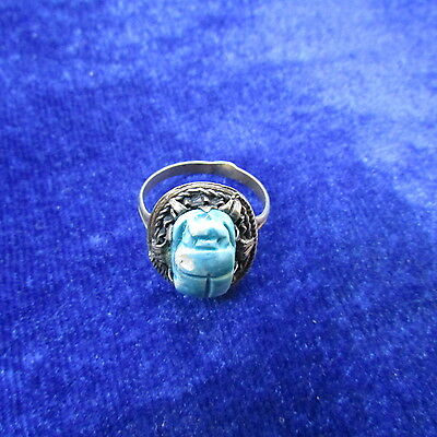 Very old antique beautiful silver ring with stone from New Zealand