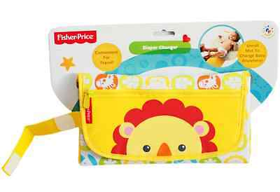 Fisher Price  BABY Change Mat Clutch Padded Fold out WALLET PURSE