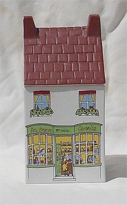 Wade Village Stores 7 Inch Canister Ice Cream Sweets Staffordshire England