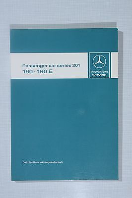 Mercedes-Benz W201 (190 & 190E) Introduction into Service Manual