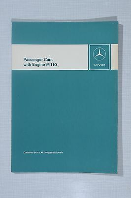 Mercedes-Benz Engine M110 (280) Introduction into Service Manual