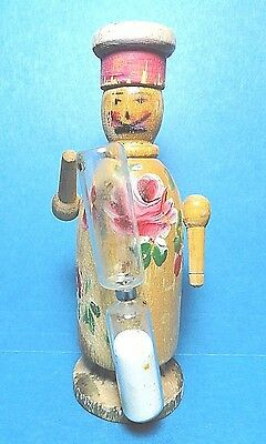 """Vintage Wooden """" Chef"""" Sand Egg Timer  Free Shipping"""