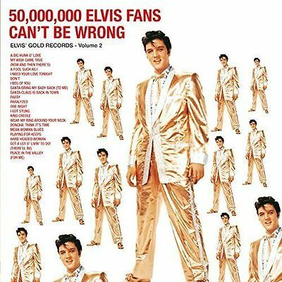 Elvis Presley - 50,000,000 Fans Can't Be Wrong 180g vinyl LP NEW/SEALED Best Of