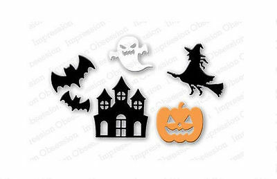 Halloween Set 6 American Made Steel Dies by Impression Obsession DIE114-O New