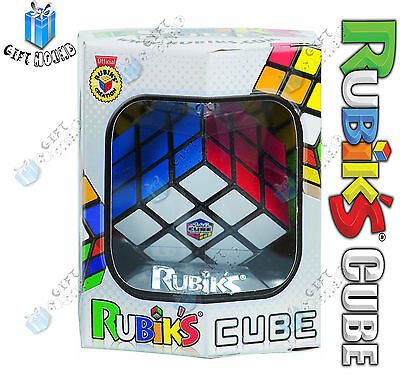 Rubix Cube Original Rubiks Rubic Rubik Puzzle Kid Toy Game **NEW FREE DELIVERY