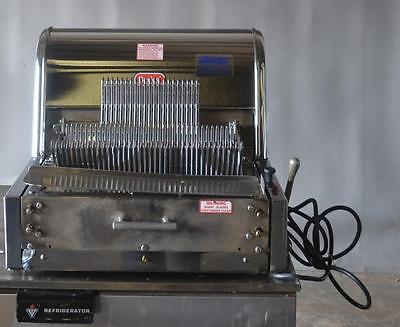 Used Berkel Mb 7/16 Countertop Bread Slicer Free Shipping!