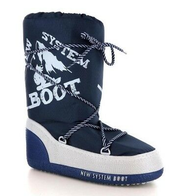 Doposci Boot Uomo Donna New System Boot Made in Italy col blu