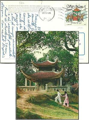Vietnam - 1996 - Yv 1597 - Year of Mouse 8000d - cpc - Ha Noi - to Italy 23oct01
