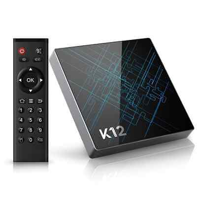 Bqeel K12 Android TV Box / Android 6.0 OS Amlogic S912 Octa Core ARM Cortex-A53