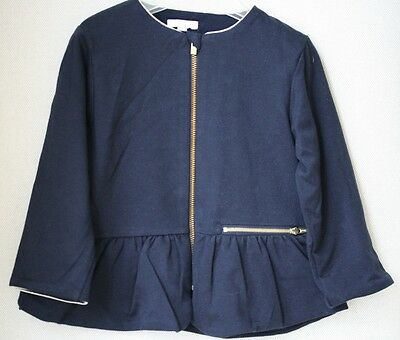 Chloe Baby Girls Navy Sweatshirt Cardigan 24 Months