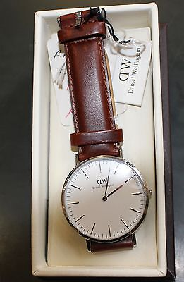 Daniel Wellington St.Mawes Watch - Brown Strap - RRP: £179 NOW: £119