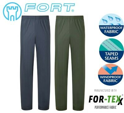 FORT FORTEX FLEX Waterproof Windproof STRETCHABLE Over TROUSERS - S-XXL