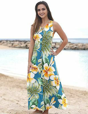 "Jade ""Plumeria Beauty"" Long Maxi Dress by Paradise Found™Made in USA"