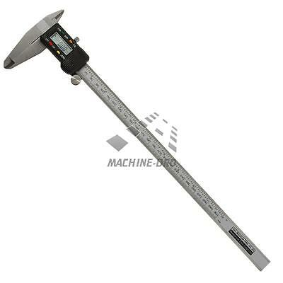 "300mm/ 12"" Digital Caliper Engineers Vernier Measuring Gauge Machine-DRO Steel"