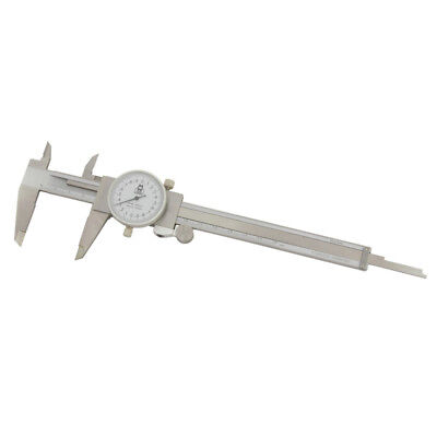 150mm Metric Dial Vernier Caliper Stainless Steel - Moore & Wright 141 Series