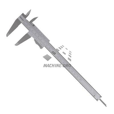 """Mitutoyo 200mm/8"""" Vernier Caliper With Thumb Clamp Metric/Imperial 531-129"""