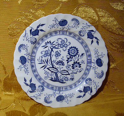 """Johnson Bros """"nordic"""" Blue Bread & Butter Plate(S) Made In England"""