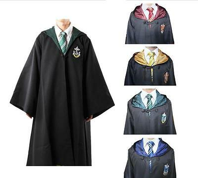 Toga Costume Uniforme Cosplay Harry Potter Grifondoro Serpeverde Corvonero