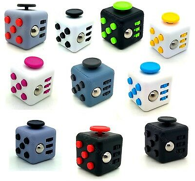 Fidget Cube 2017 Children Desk Toy Adults Stress Relief ADHD NEW UK STOCK NEW