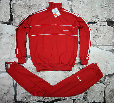 _ ADIDAS _ NEW VINTAGE TRACKSUIT _ 1980's _size M _ D6 _  ULTRA RARE _