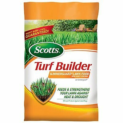 Scotts Turf Builder Lawn Food - Summerguard with Insect Control, 15,000-sq...NEW