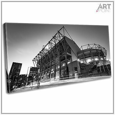 The Gallowgate End St. James Park Newcastle Framed Canvas Football Art Print