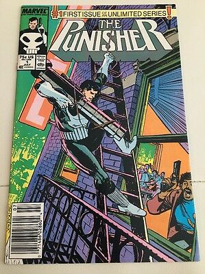 The Punisher #1 Super High Grade NM+ 1987