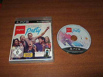 SingStar Ultimate Party für Sony Playstation 3 / PS3