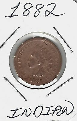 USA 1882 Indian Cent....Take A look !!