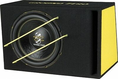 Ground Zero Subwoofer in cassa reflex GZIB 3000SPL 1000 Watt  box sub auto
