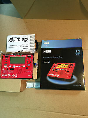 KORG BEATBOY - drum machine, recorder and tuner for guitarists