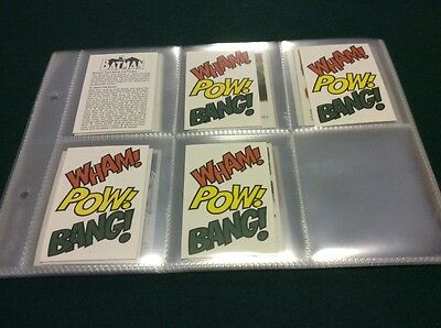 Macleans Toothpaste- BATMAN Trade Card Game Rare.