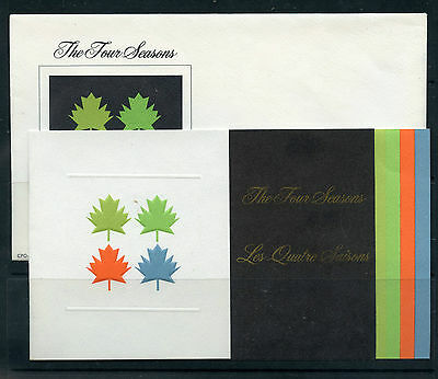 Weeda Canada Thematic Collection #5, 1971 The Four Seasons folder CV $3