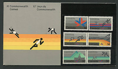 Weeda Canada Thematic Collection #12, 1978 Commonwealth Games CV $5