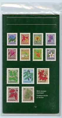 Weeda Canada Thematic Collection #19, 1982 Wildflowers and Trees CV $7.50